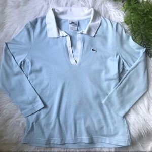 [Lacoste] Powder Blue Polo Size 12